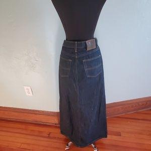 Polo jeans company denim skirt